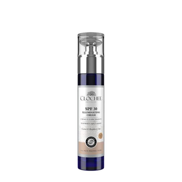 Clochee valgust peegeldav tooniv naokreem SPF 30, 50 ml, Simply Organic, 5903205747457