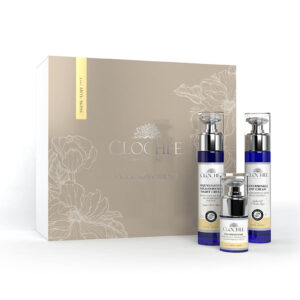 Clochee vananemisvastane nahahoolduskomplekt, 50 ml + 50 ml + 15 ml, Simply Organic, 5907648379756